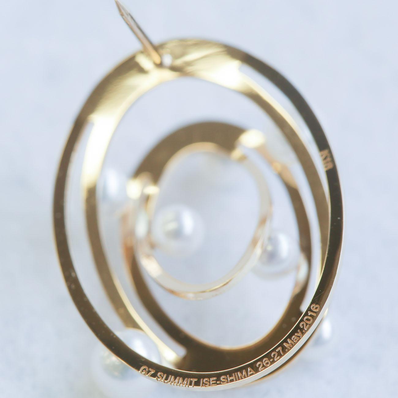 G7ラペルピン|三重県真珠振興協議会